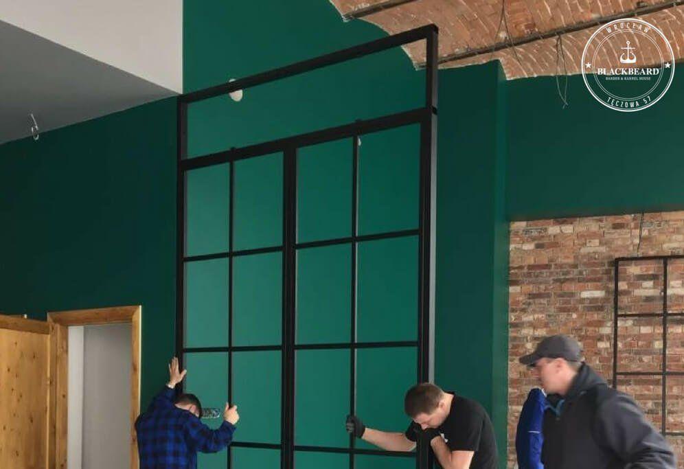 drzwi metalowe w BlackBeard