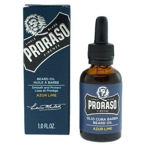 Niebieski olejek Proraso