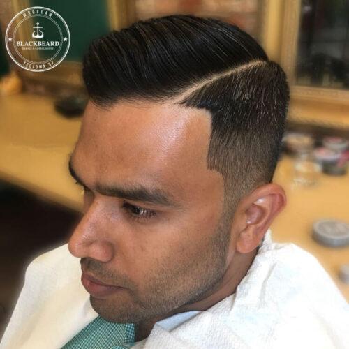 strzyżenie włosów i brody