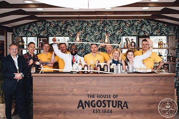 zespół House of Angostura na Rum Love Festiwal