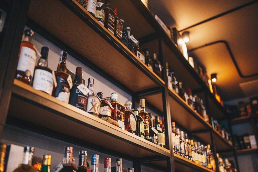 Alkohole w ciekawych butelkach
