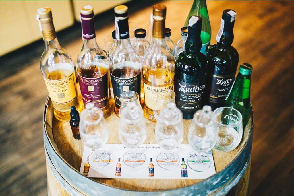 Degustacje alkoholi i spotkania firmowe