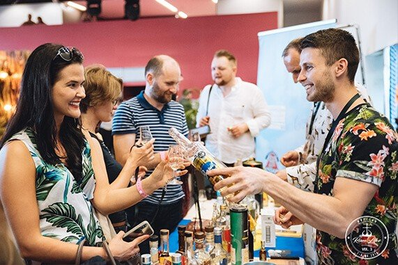 Cachaca Novo Fogo na Rum Love Festiwal vol.3