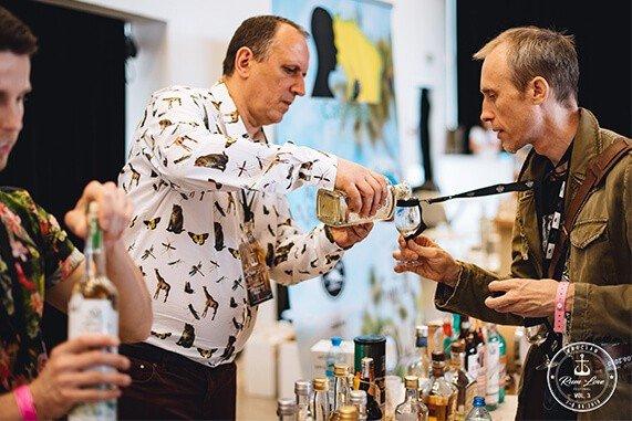 Leszek Wedzicha na Rum Love Festiwal vol.3