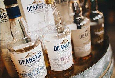 Whisky Deanston w salonie BlackBeard - Wrocław, Tęczowa 57