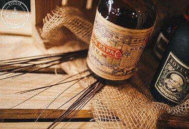 Rum Don Papa w salonie BlackBeard - Wrocław, ul. Tęczowa 57