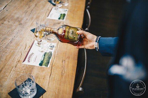 Appleton: Degustacja rumów w salonie BlackBeard