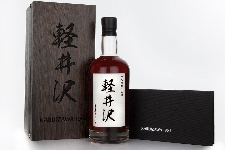 Inwestycja w whisky-Karuizawa1964 48YO - BlackBeard