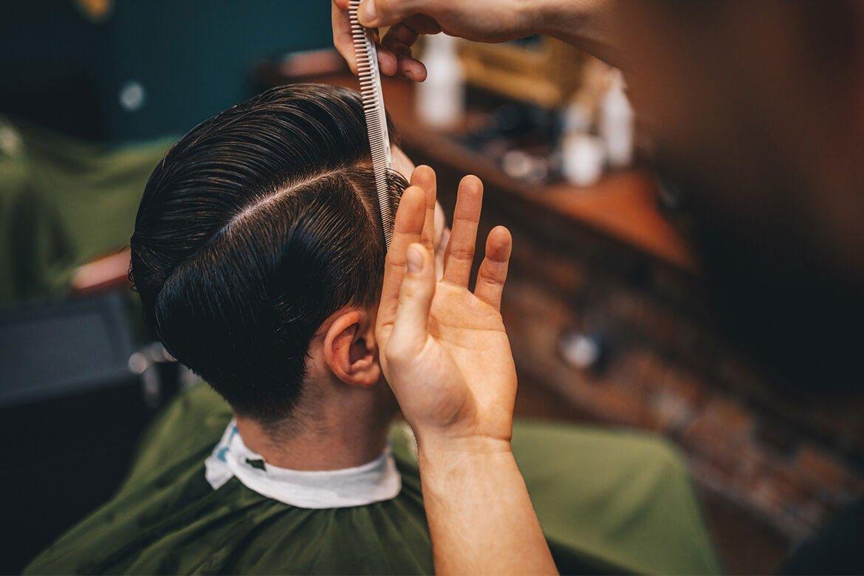 klasyczne fryzury męskie