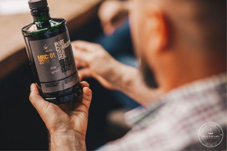 whisky Octomore na degustacji w BlackBeard