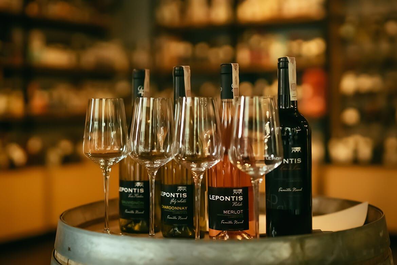 Lepontis wina w salonie BlackBeard