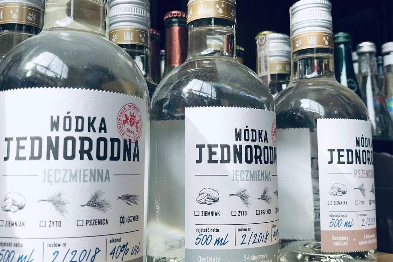 Toruńska wódka jednorodna
